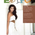 Jaclyn Stapp featured on the cover of Entro Magazine